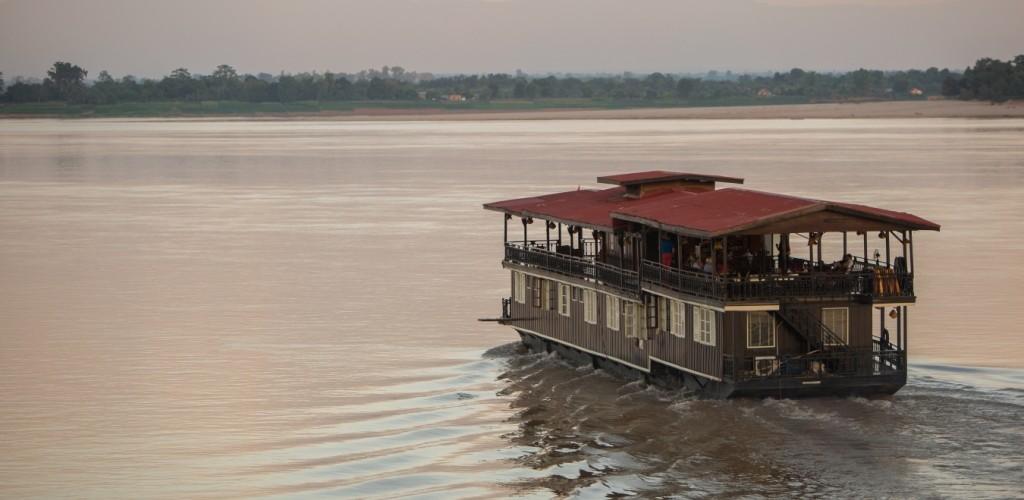 River, Southern Laos