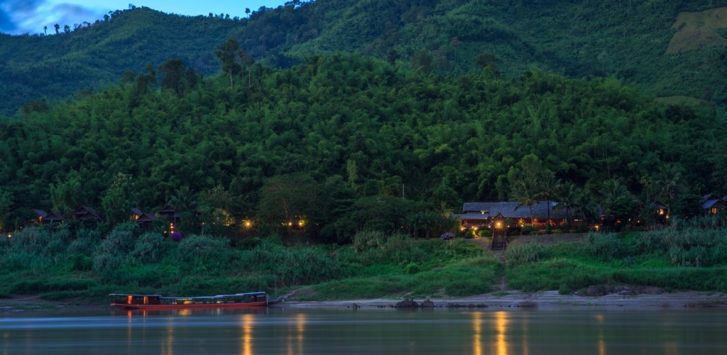 Luang Say Lodge, a luxury accommodation on the banks of the Mekong River, Pakbeng, Laos
