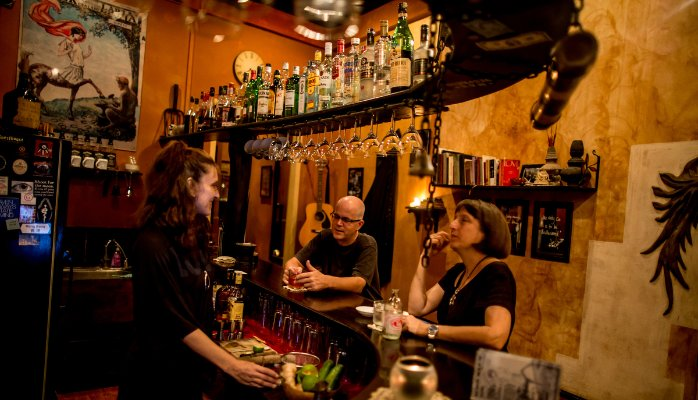 Eclectic ambiance can be found at the Icon Klub