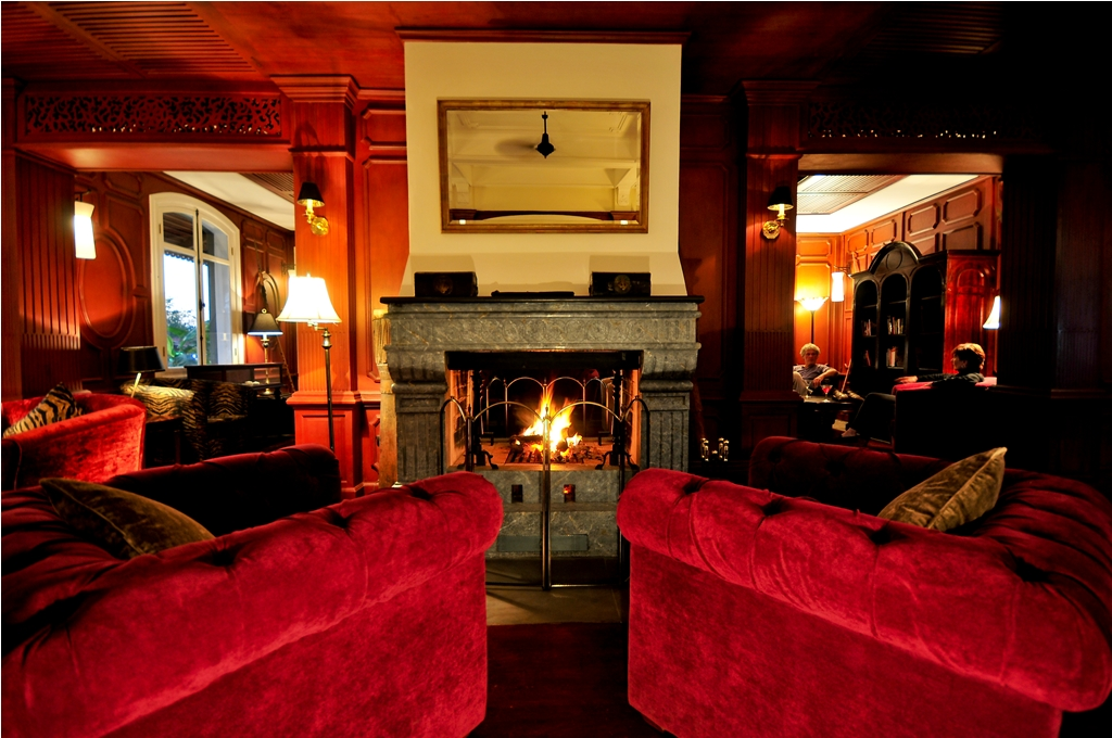 For true luxury in a French Colonial setting - 1861 Bar at The Luang Say Residence